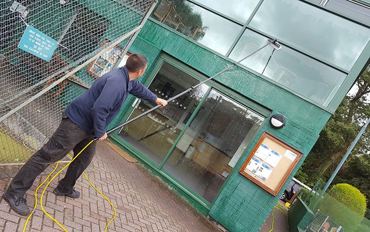 commercial window cleaning Wirral