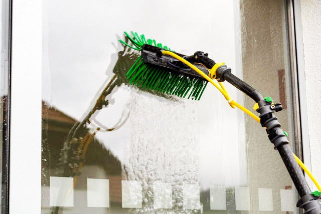 monthly window cleaning Wirral